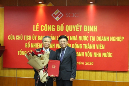 SCIC announced Decision by the Chairman of the Commission for the Management of the State Capital at Enterprises on the appointment of Mr Nguyen Quoc Huy – Deputy General Director of SCIC to the Board Member of SCIC